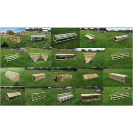 Set of 20 Cross Country Fences