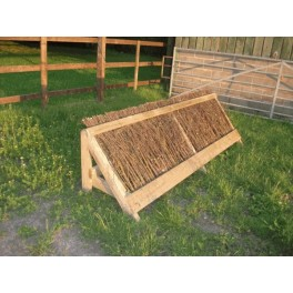 Sloping Brush Fence - Cross Country Jump - 8ft x 18 inches