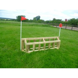 Double Palisade - Cross Country Jump - 8ft x 18 inches