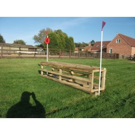 "2 in 1 Tiger Cage Cross Country Jump - 1ft 9"" - 2ft x 8ft"
