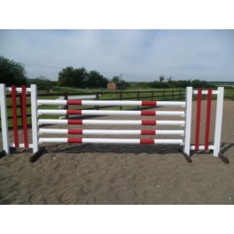 BSJA Show Jumps - Pole Wall Set  - 8 ft x 5 ft