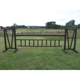 Show Jumps - Working Hunter - Set E - 5ft Wings, 10ft Pole, 10ft Hanging Ladder + Cups