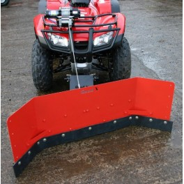 Yard Scraper - Option A with Manual Lift System