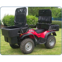JFC ATV-CBS , ATV Back Carrier Box Open 150Ltr