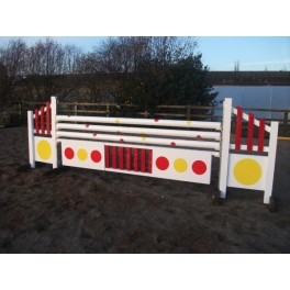 Yellow Spot Set - 8ft x 5ft