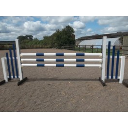 BSJA Show Jumps - Squared off Wing Set  - 8 ft x 5 ft