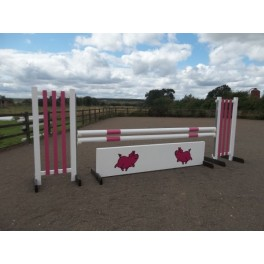 BSJA Show Jumps - Pink Pig Set  - 8 ft x 5 ft