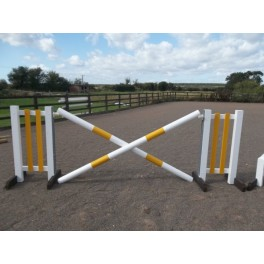 BSJA Show Jumps - Cross Set  - 8 ft x 5 ft