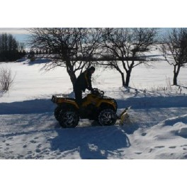 Quad Bikes/ATV Snow Plough - Manual lift