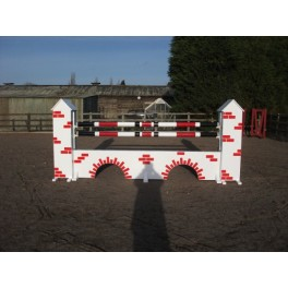 Bridge Towers Set  - 8 ft x 4 ft - Front Graphics