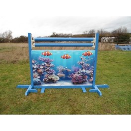 Fish Wall Set - 8 ft x 4 ft - Front Graphics