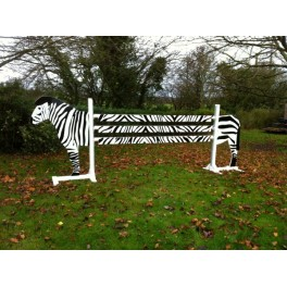 Zebra Set - 8ft wide 4ft high Front Graphics