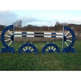 Water Wheel Set - 8 ft x 4 ft - Front Graphics