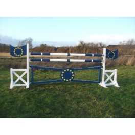 EU Flag Set - 8 ft x 4 ft - Front Graphics