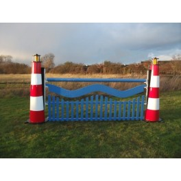 Wavy Lighthouse Set - 8 ft