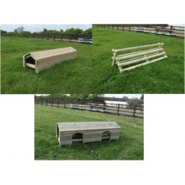 "Set of 3 ""10ft wide"" Cross Country Fences"