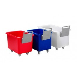 200 Litre Multi-Purpose Mobile Container Complete with Plastic Handle - No Lid