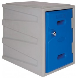 Small Plastic Locker with Key operated Lock
