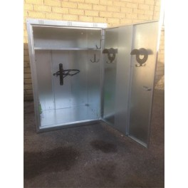 Extra Wide 1 Saddle Tack Locker - Galvanised - standard