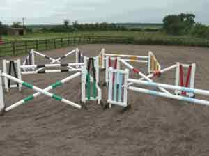 pony club jump sets